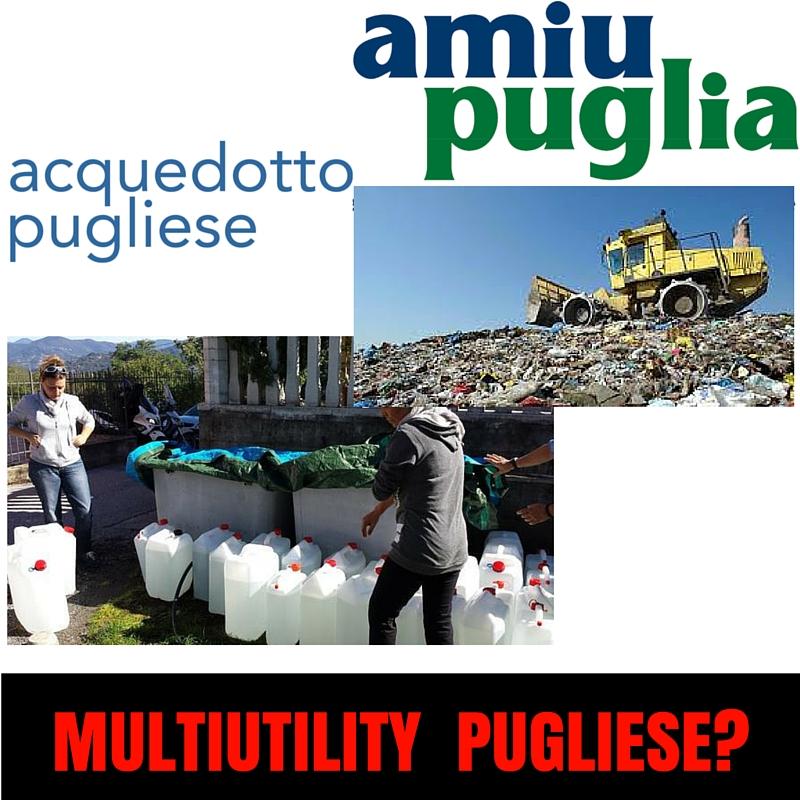 DDL Rifiuti Regione Puglia: verso la Multiutility? Taranto ancorasvantaggiata.